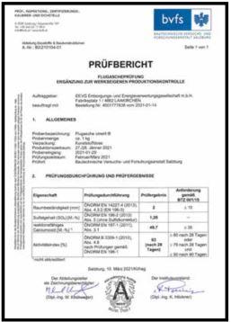 bvfs Prüfbericht 2021